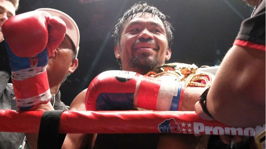 Manny Pacquiao to return to U.S. for January fight vs. Adrien Broner