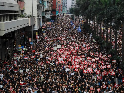 Hong Kong has been devoured by a 'sea of black' amid protests over extradition plans with China: How the intense blowback inspired a historic apology