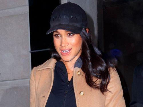 Meghan Markle swapped her typical style for a casual outfit and baseball cap that she appeared to borrow from a close friend