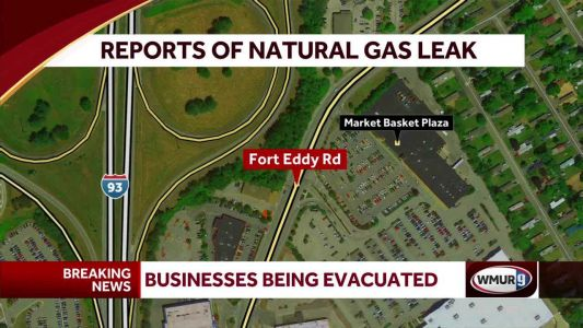 Firefighters investigating natural gas leak at Market Basket Plaza in Concord