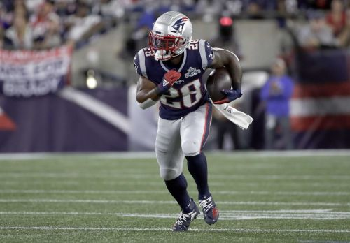 Patriots running back inactive after his father dies in car crash, according to report
