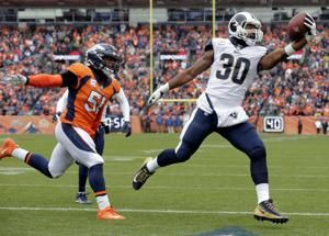 Gurley runs for 208 yards in Rams' 23-20 win over Broncos