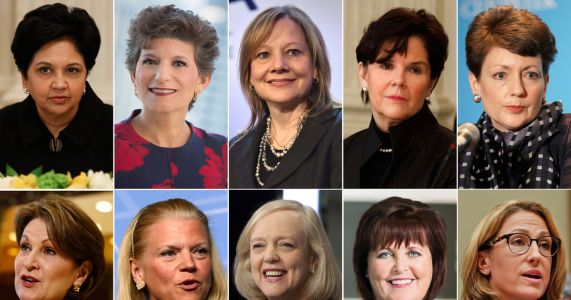 PepsiCo's Nooyi, Ventas's Cafaro among top-paid female CEOs