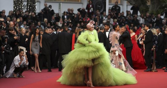At Cannes Film Festival, a picture worth a thousand words