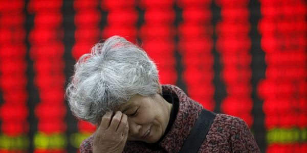 Global markets are tumbling after shockingly weak data out of China shows wounds of Trump's trade war