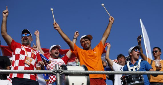 Old Davis Cup format shines bright in US-Croatia series