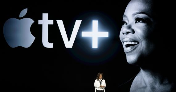Oprah, Spielberg help Apple launch new streaming service