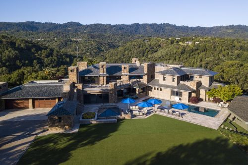 Tech titan's insane $100M mansion has it all - including a 'pizza room'