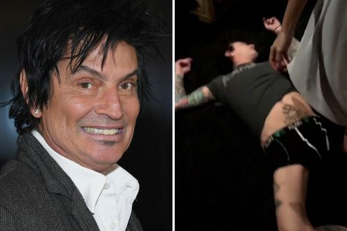 Tommy Lee's son posted a video of his dad knocked out on Father's Day