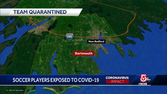 Dartmouth High School soccer players under quarantine after exposure to COVID-19