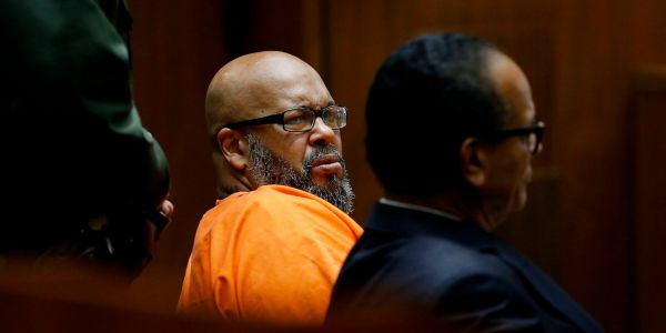 Rap mogul Suge Knight is going to prison for 28 years for fatally running down one of his friends with a pick-up truck