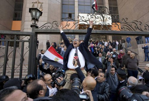 Egyptian opposition figure defiant after conviction