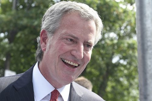 De Blasio promises party for Little Leaguers if they win it all