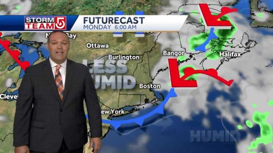 Video: Scattered storms clear out overnight