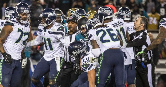 Sore losers? That's too soft a label for how the Seahawks reacted at end of loss