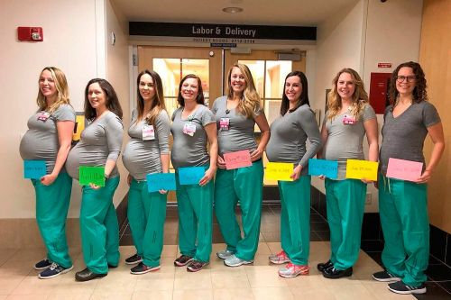 Baby boom: 9 labor unit nurses pregnant at Maine hospital