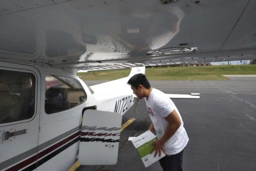 Teen pilot flies medical supplies to rural hospitals