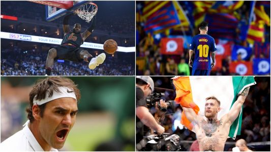The 18 most famous athletes in the world in 2018