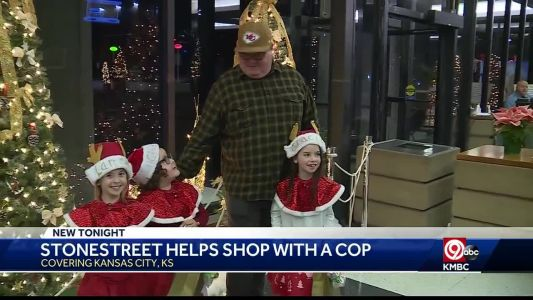 Dozens of KCK kids will now have Christmas gifts thanks to police, Eric Stonestreet
