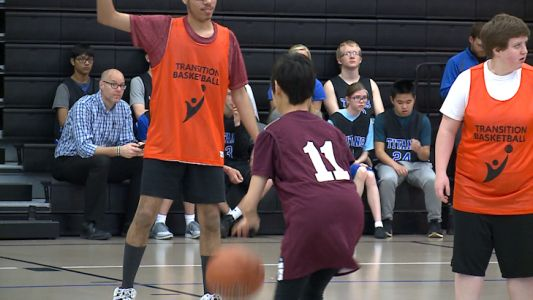 Unified Champion Schools hosts first special olympics basketball tournament