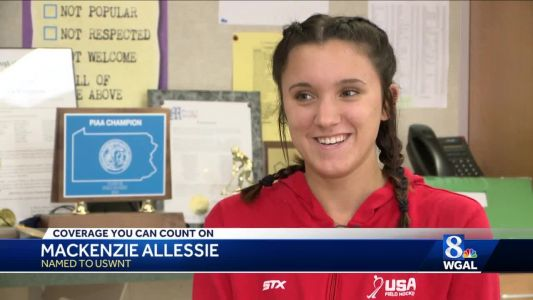 Donegal senior is the newest, and youngest, member of the U.S. Women's Field Hockey Team