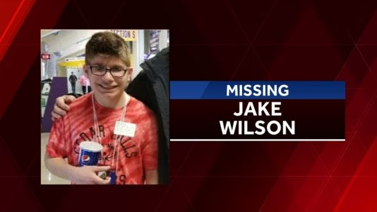 Human remains discovered near area where Jake Wilson went missing