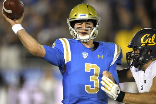 UCLA star QB knocked out of game after getting sacked 3 times