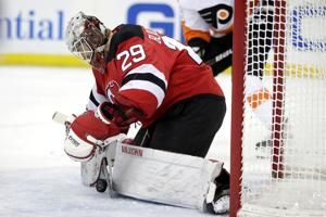 Blackwood returns to lineup and leads Devils over Flyers