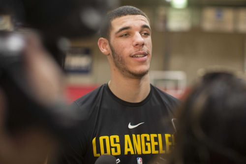 Lonzo Ball talks the 'greats,' sets a high bar for his Garden debut