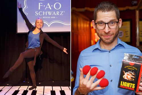 You'll have to sing, dance or do magic to land a job at FAO Schwarz