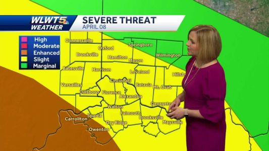 Strong storms possible Wednesday night