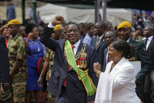 Zimbabwe's leader: 1st post-Mugabe elections in May or June