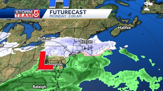 Snow possible to start February Vacation Week