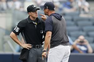 'Savages' sweep: Boone's rant sparks Yanks over Rays in DH