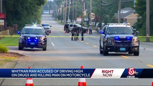 Man with kid in car accused of driving high, killing motorcyclist