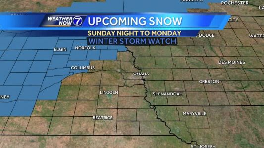 Even though we hit 50° today, we are tracking a winter storm for Sunday night