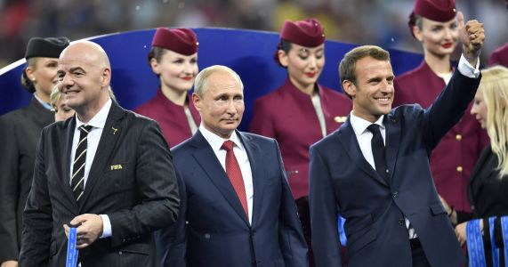 Putin: 25 million cyberattacks thwarted during World Cup