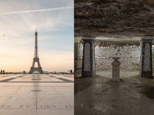 This photographer captured what lurks beneath Europe's biggest tourist attractions - and the photos are incredible