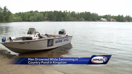 Man drowned while swimming in Kingston pond