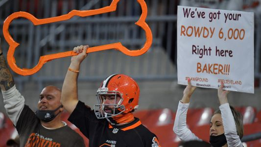 Fight breaks out at Browns-Bengals game, even with limited crowd
