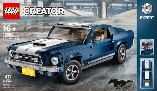 1967 Ford Mustang Fastback latest car to be immortalized in Legos