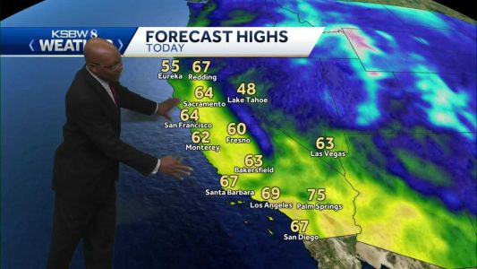 Warm Today and Cooler Wednesday with Rising Surf