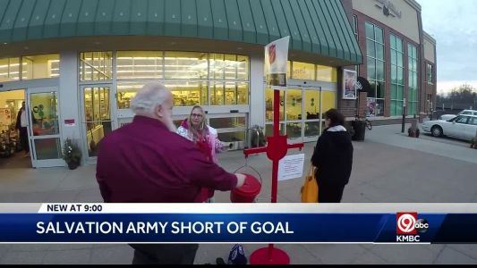 KC Salvation Army $500,000 short of its fundraising goal