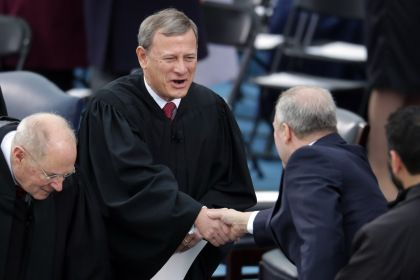 Supreme Court Chief Justice John Roberts Comes To Minneapolis