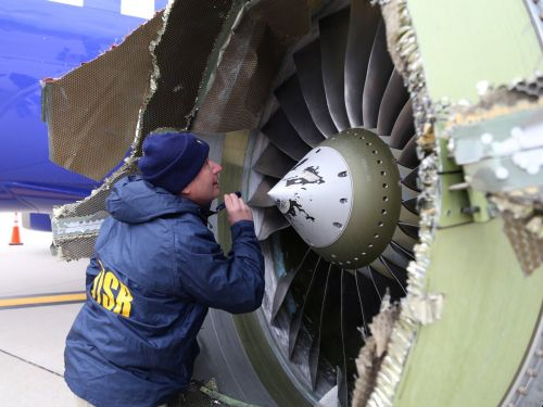Europe orders emergency inspections of the type of jet engines that failed on deadly Southwest Airlines flight