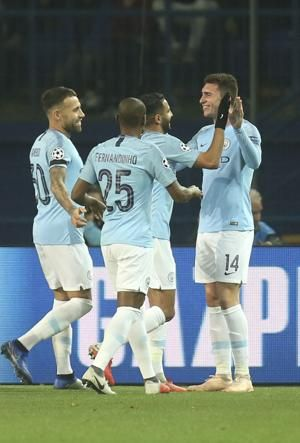 City sweeps aside Shakhtar 3-0 in Champions League