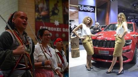 'Jeep Grand Christopher sounds good': Twitter split after Cherokee Nation chief asks carmaker to stop 'honoring' his tribe