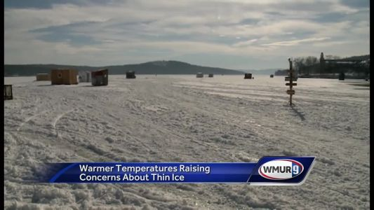 Warmer weather could mean end to ice-fishing season