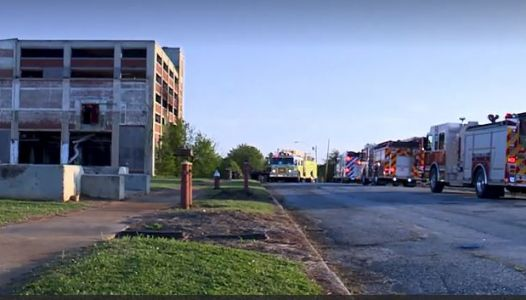 3 juveniles apprehended after fire at abandoned mill, fire chief says