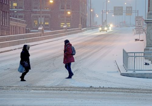 WEATHER: Snow has started, and a freezing mix is on the way